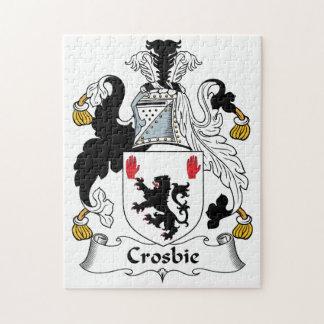 Crosbie Family Crest Puzzle