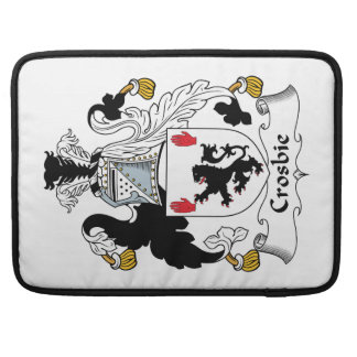 Crosbie Family Crest Sleeves For MacBooks