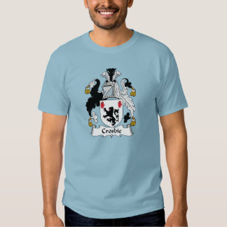 Crosbie Family Crest T Shirts