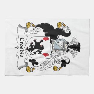Crosbie Family Crest Towel