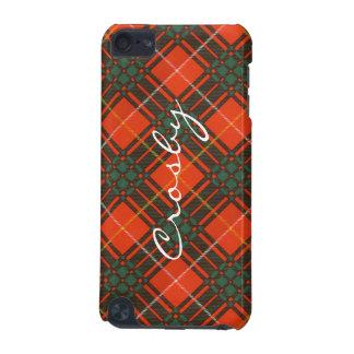 Crosby clan Plaid Scottish tartan iPod Touch (5th Generation) Case