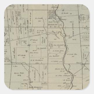 Crosby, Ohio Pegatina Cuadrada