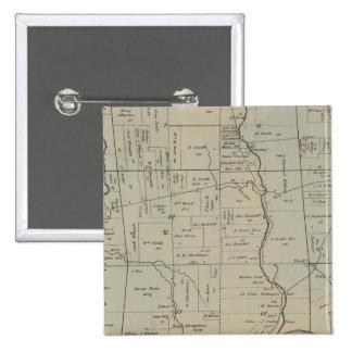 Crosby, Ohio Pin Cuadrada 5 Cm