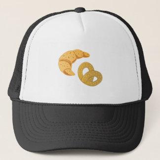 Crosisant & Pretzel Trucker Hat