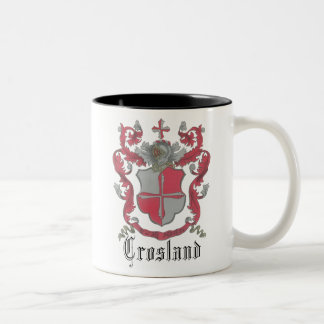 Crosland Coat of Arms Bright-Well Mug