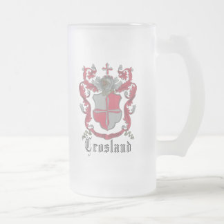 Crosland Coat of Arms Classic Frosted Beer Mug