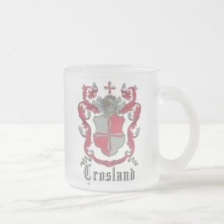 Crosland Coat of Arms Classic Frosted Mug