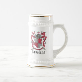 Crosland Coat of Arms Classic Stein 18 Oz Beer Stein