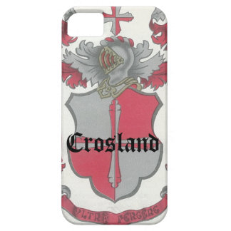 Crosland Coat of Arms iPhone Case-Mate Case iPhone 5 Cases