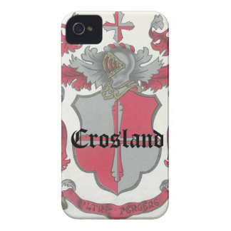 Crosland Coat of Arms iPhone CaseMate Barely There iPhone 4 Case-Mate Cases