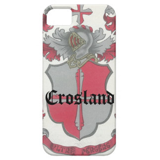 Crosland Coat of Arms iPhone CaseMate Barely There iPhone 5 Case