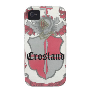 Crosland Coat of Arms iPhone Tough Case Case-Mate iPhone 4 Covers
