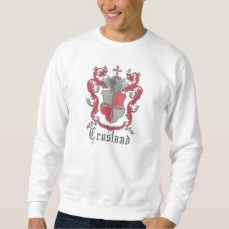 Crosland Coat of Arms Men's Basic Sweat Shirt