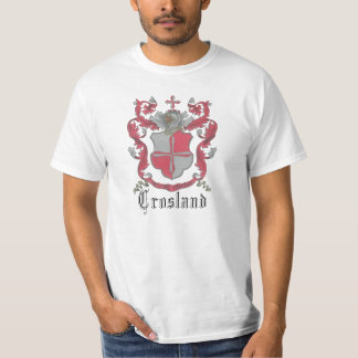 Crosland Coat of Arms Men's Cheap Chic Tee Shirt
