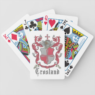 Crosland Coat of Arms Playing Cards