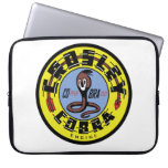 Crosley COBRA engine vintage sign reproduction Laptop Computer Sleeve