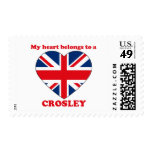 Crosley Postage Stamps