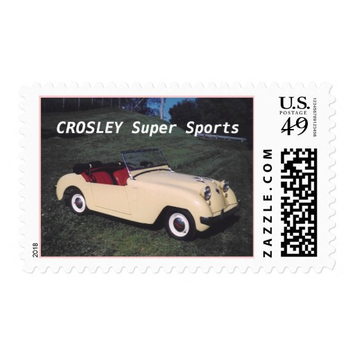 CROSLEY Super Sports Stamps