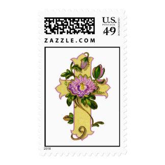 Cross2 (arte del vintage) sellos