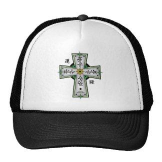 Cross2 célticos - Prosperidad de la suerte Gorros Bordados