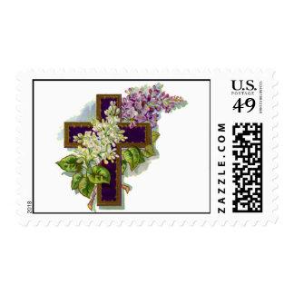 Cross4 (arte del vintage) sellos