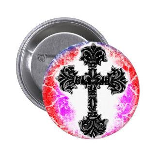 Cross_03b Pin Redondo 5 Cm