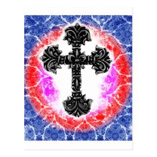 Cross_03b Postcard