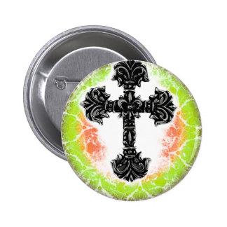 Cross_03d Pin Redondo 5 Cm
