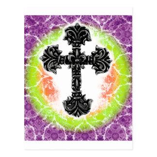 Cross_03d Postcard