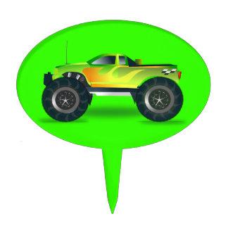 cross-42563 cross, car, cartoon, truck, sports, pu cake topper