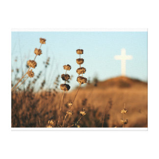Cross and Brush Canvas Canvas Prints