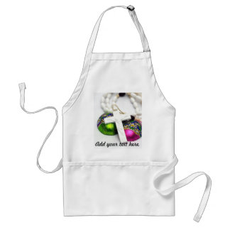 Cross and Colorful Easter Eggs Aprons