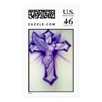 Cross and Dove Stamp