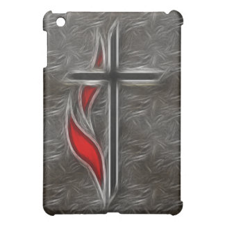 CROSS AND FLAME  CASE FOR THE iPad MINI