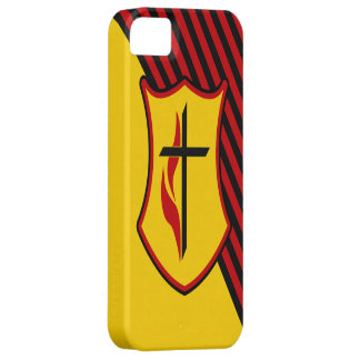 Cross and Flame iPhone SE/5/5s Case