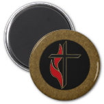 CROSS AND FLAME MAGNETS
