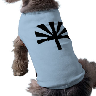 cross and sun rays pet clothing