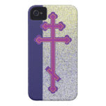 Cross and the abstract life we live. iPhone 4 case
