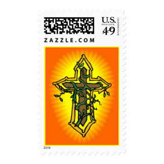 Cross and Vine Stamp
