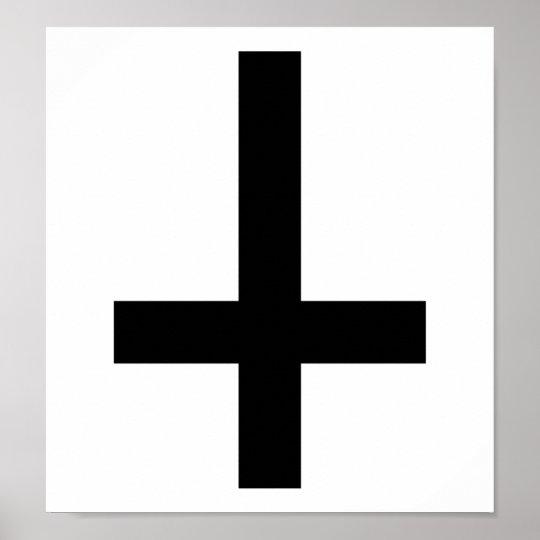 Cross antichrist poster