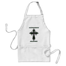 Cross/Awareness...Gastroparesis Adult Apron