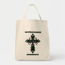 Cross/Awareness...Gastroparesis Tote Bag