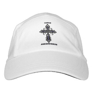 Cross/Awareness...Lupus Headsweats Hat
