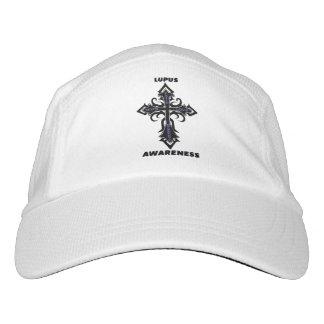 Cross/Awareness...Lupus Headsweats Hat
