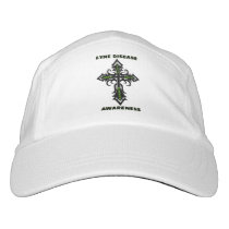 Cross/Awareness...Lyme Disease Headsweats Hat
