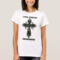 Cross/Awareness...Lyme Disease T-Shirt
