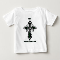 Cross/Awareness...TBI Baby T-Shirt