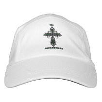 Cross/Awareness...TBI Headsweats Hat