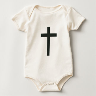 Cross Baby Bodysuit