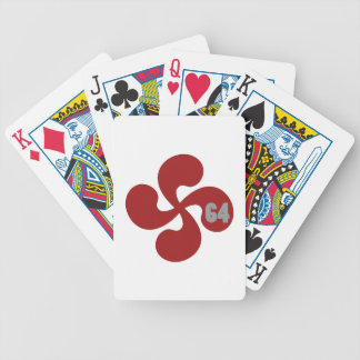 Cross Basque 64 Bicycle Playing Cards
